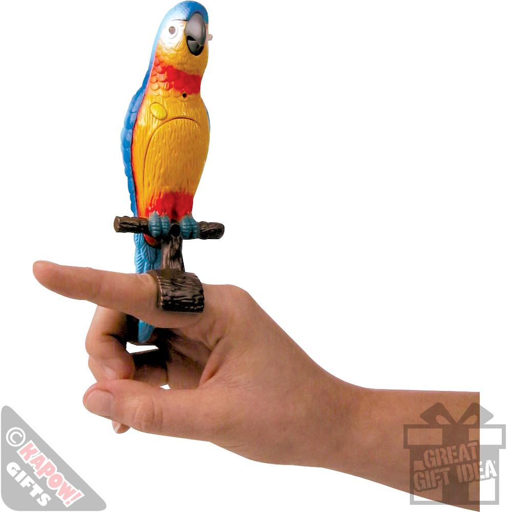 Bird Talking Toy : Talking polly speaking parrot hilarious kids toy fun