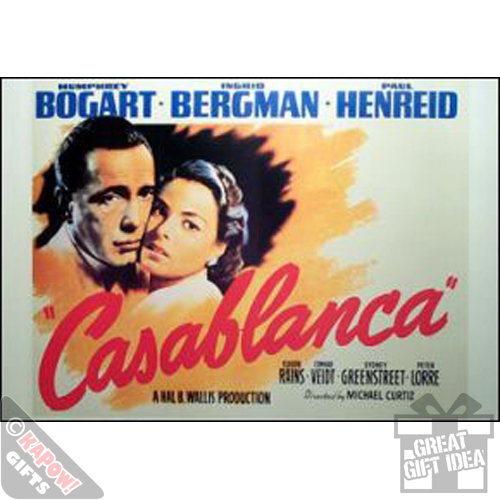 a description of casablanca as bogarts best film Hollywood's war films of wwii at the time of the conflict:  casablanca (1942)  wyler's the best years of our lives .